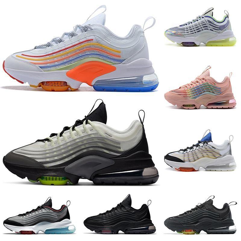الأزياء وسادة ZM950 رجل الاحذية 950 أوريو نيون الثلاثي الأسود الفضة أبيض rainbow 950s النساء الرجال الرياضة المدربين أحذية رياضية chaussures