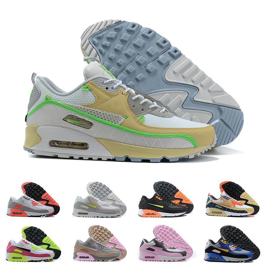 90 Running Shoes zapatillas para correr para hombres para mujer Worldwide Viotech Vietech Safari Safari Cloro Blue Cork Sneakers Premium 90s Entrenadores