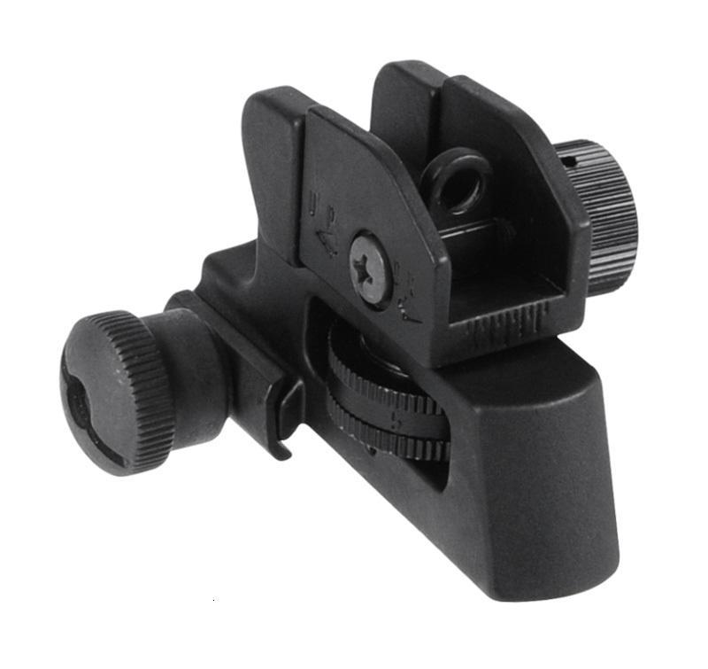 AR ABERTURAS DE DUAL DE DETANTES A2 A2 Visión trasera Se adapta a 20 mm Montaje Todas las tapas planas de la pistola de caza Rifle de la vista Accesorios