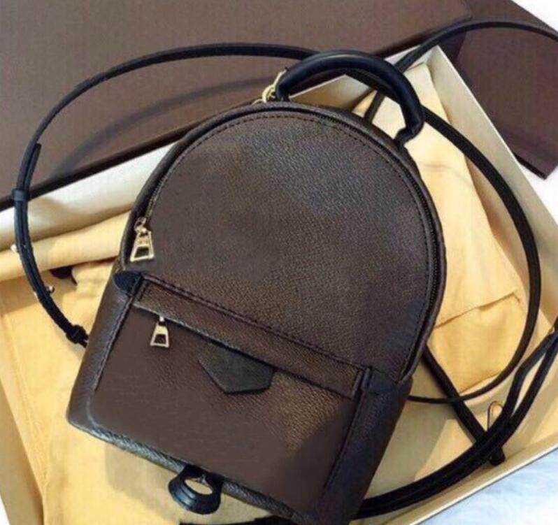 M44873 Palm Springs Sac à dos Mini Hommes Sacs à dos Fashion Femmes Afficher les sacs d'affaires en cuir Sacs Messenger