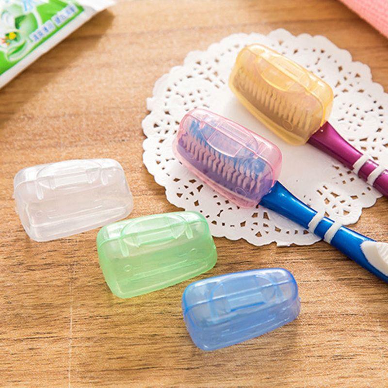 Держатель для головки зубных щеток Портативные коробки для хранения Путешествия Туризм Кемпинг Главная Ванная комната Кисть Крышка Коробки Корпуса Организаторы