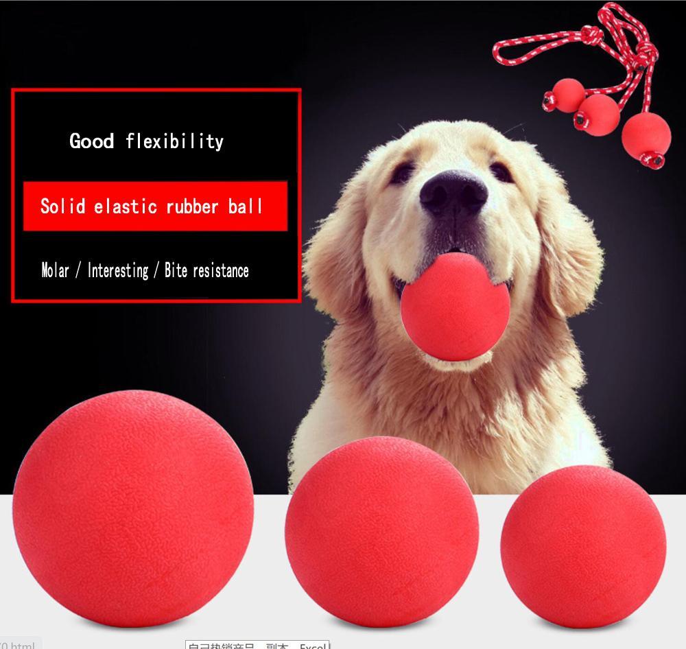 الحيوانات الأليفة لعبة لا سيئة الكرة الصلبة المطاط نطاط الكرة الكلاب الكلاب الملحقات لعبة لدغة لعبة