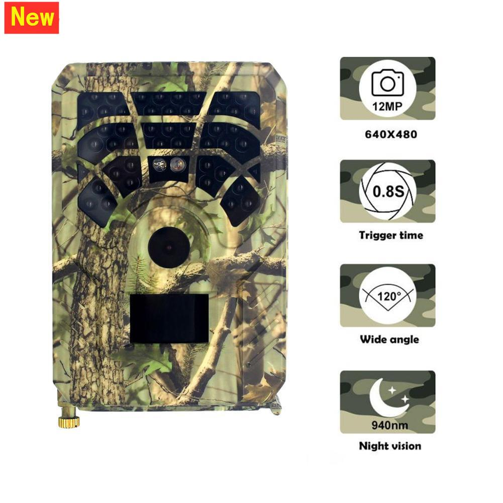 PR300A Jagdkamera 12MP 1080P 120 Grad PIR Sensor Weitwinkel Infrarot Nachtsicht Wildlife Trail Thermal Imager Video Cam