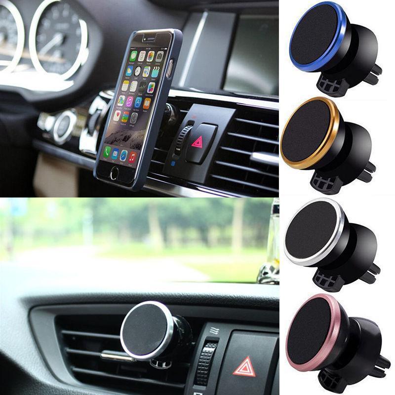 Praktische magnetische Luft-Entlüftungsmontage Auto Halter Auto-Telefonhalter für mobile Smartphone-Ständer-Magnet-Unterstützung Mobiltelefon-Montierauto-Halter