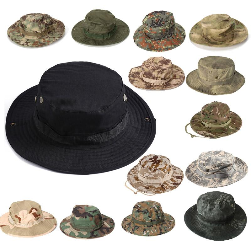 Sport all'aria aperta Camo Navy Cap Airsoft Gear Marines Army Shooting Combat Assault Tactical Camouflage Hat P07-005