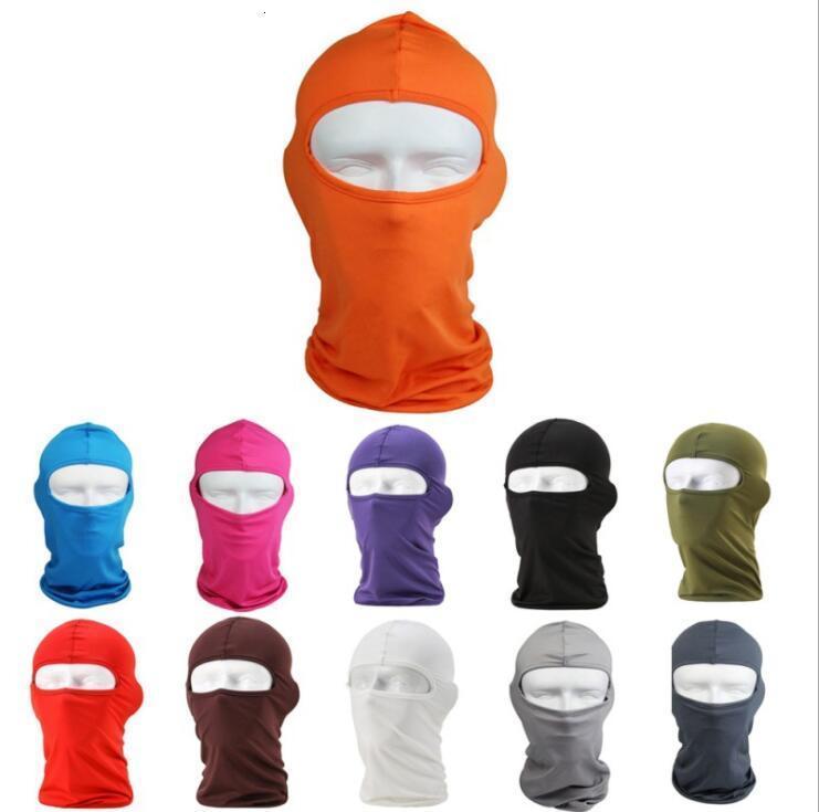 Осень зима Полное лицо Крышки лыжный мотоцикл Велоспорт лица маска для лица ниндзя Skiboard шлем шеи теплые гайтер трубка фана