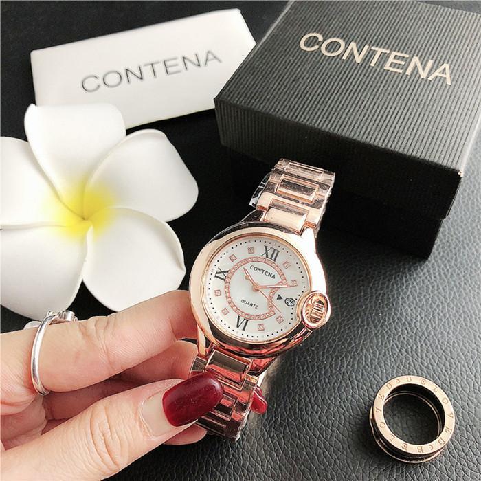 Beliebte Frauen mit Rhinestone Uhr Rose Gold Dame Armbanduhr Quarz Hohe Qualität Mode Uhr Mädchen Geschenke Relogio Masculine
