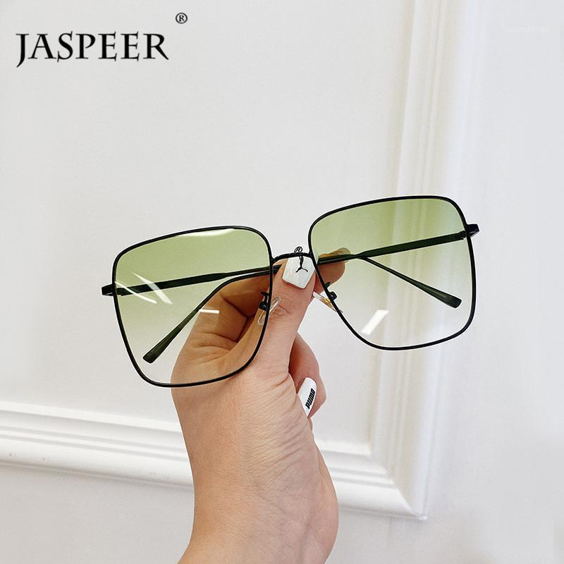 Óculos de Sol Jaspeer Sqaure Mulheres Marca Desinger Punk Sun Óculos Homens UV400 Condução Óculos Moda Eyewear1