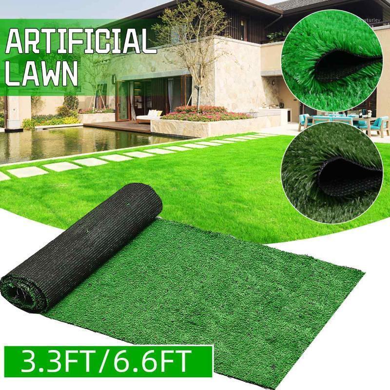 العشب الاصطناعي العشب السجاد العشب الاصطناعي البساط في البساط الصناعية وهمية فو حديقة الحديقة المشهد محاكاة النبات ديكور 1