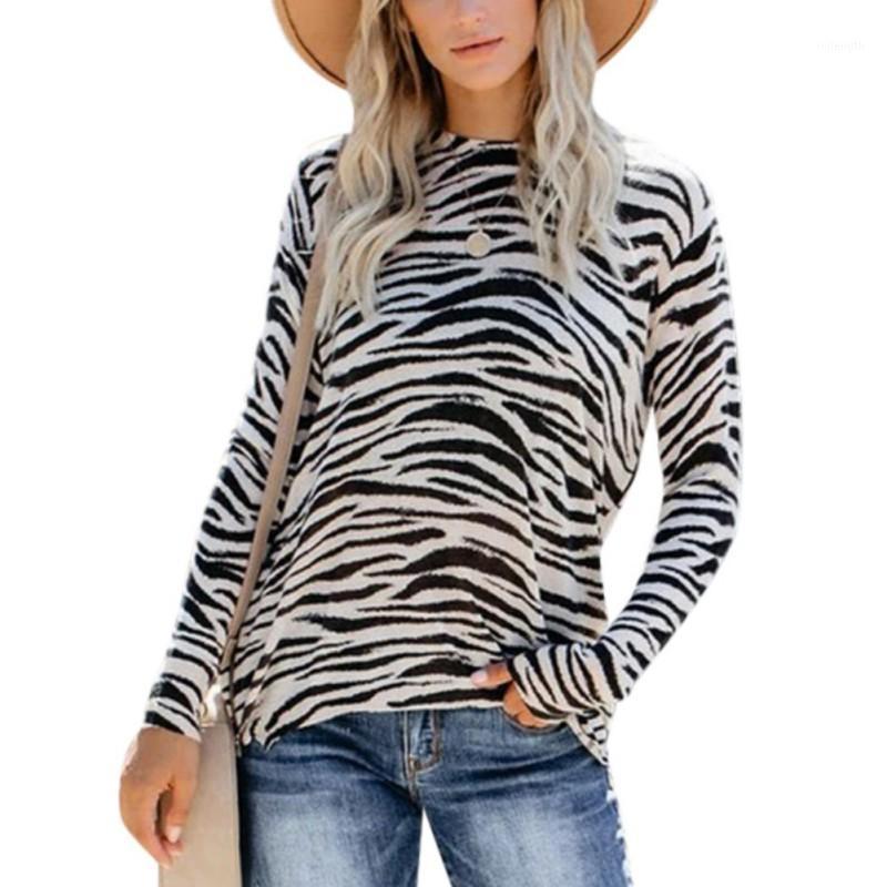 Mode T-shirt léopard Femmes Housses à manches longues T-shirts Femmes Vêtements Vêtements automne Casual Tops Tee Nouveautés Arrivées1