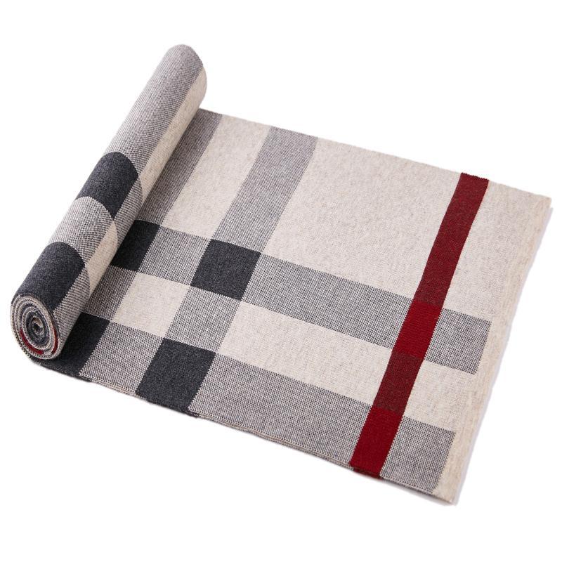 2021 Moda Mantenga la bufanda cálida Wool Winter Bufandas Populares Bufanda de estilo de lana Accesorios estilo simple estilo retro para hombres para mujer niños