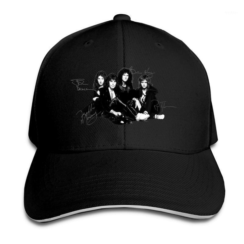 Мяч шапки мужская бейсбольная крышка солнцезащитные шляпы королева музыкальная группа быстрые сухие дышащие мужчины шляпа шапка грузовика cap1