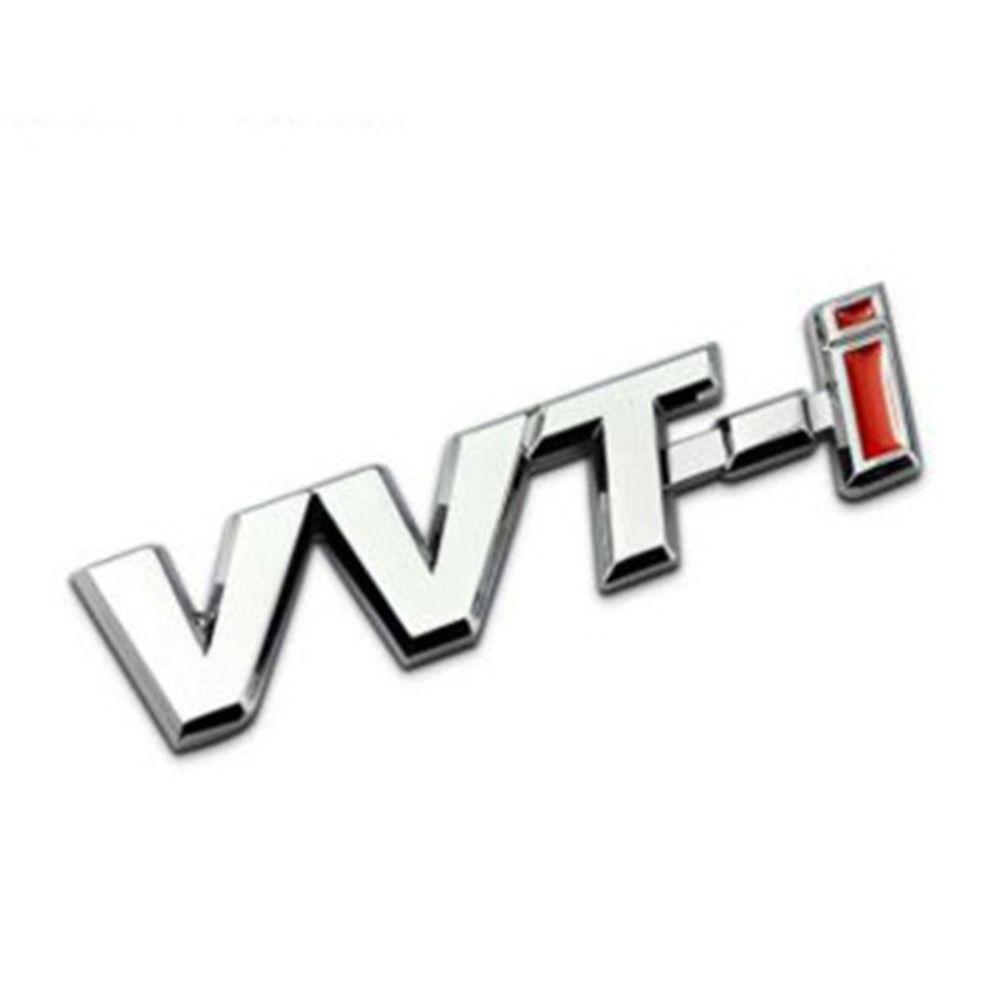 1 PCS VVTI ABS VVT-i Racing Badge Emblem Decal Autocollants de voitures pour Toyota Corolla Rav4 Auris AVENSIS YARIS CYSTER