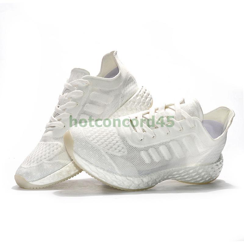 US 6.5 EUR 37 Size triple white treeperi Basf runner 711 V2 Men Women Running Shoes Sneakers sport outdoor Trainers