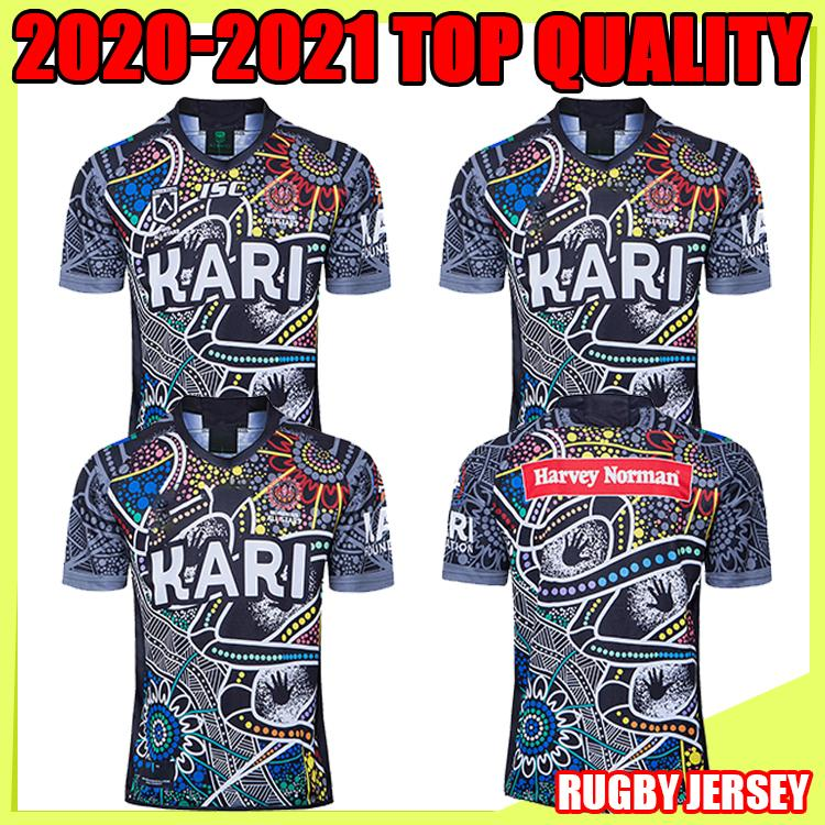 2021 Native camouflage Cowboy INDIGENOUS rugby Jerseys 2020 National Rugby League Jersey COWBOY indigenous Adult Thailand rugby shirt s-5XL