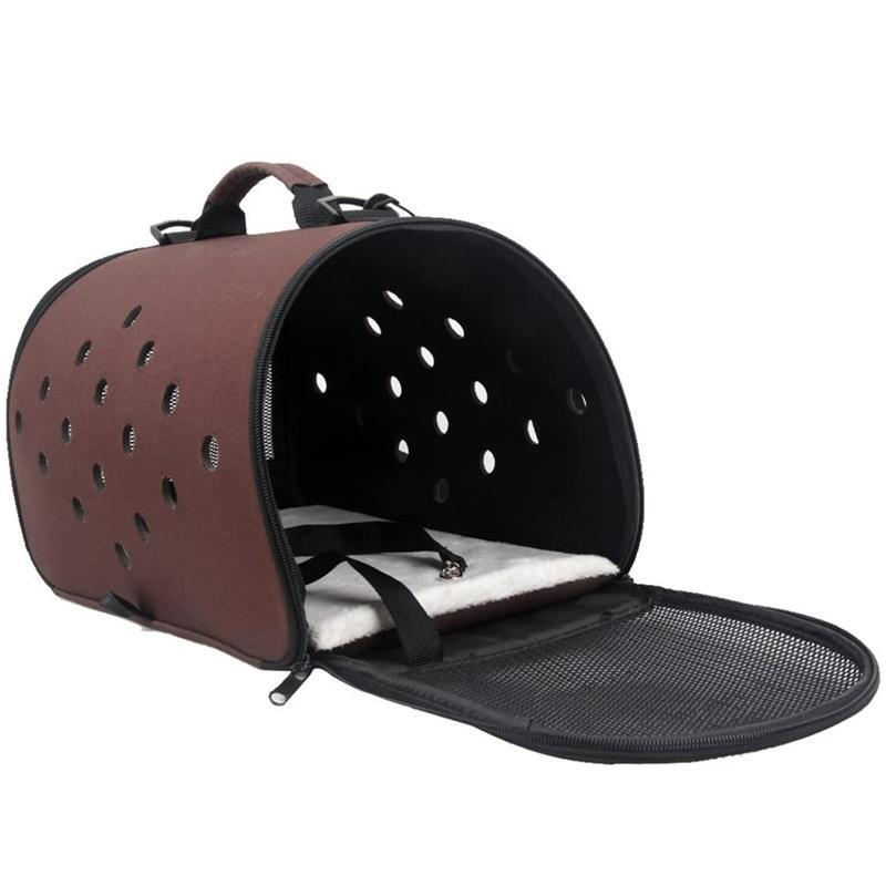 Cat Foldable Dog Outing Bag Backpack And Pet Backpack And Portable Breathable Handbag Small Dog Medium-sized Dogs Wwrcb