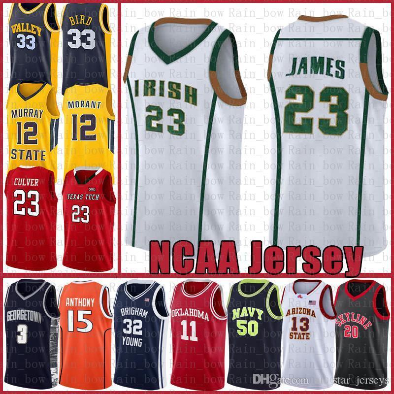 Irish High School Lebron 23 James NCAA Dwyane 3 Wade Kyrie Stephen 30 Curry Irving Jersey Jersey Basketball Anferride 25 Disqueway David 50 Robinson