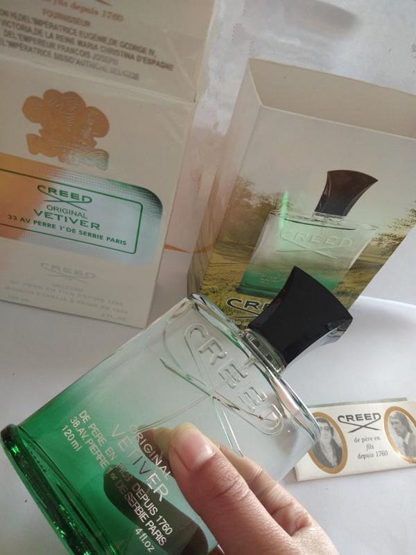 Solid Perfume Creed Green Faith Vetiver Men's Taste Perfume for men cologne 120ml high fragrance good quality