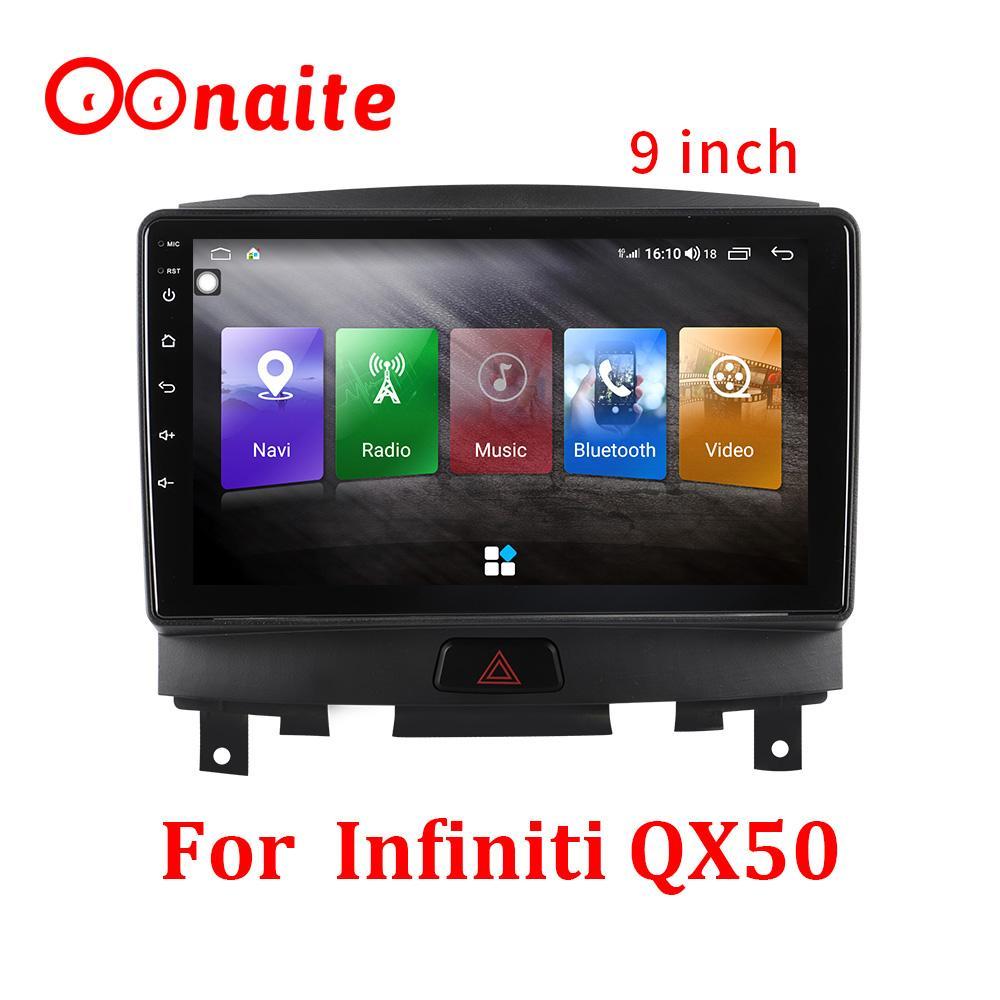 9 pollici per Infiniti QX50 Car GPS Navigator Android Android 10.0 Mappa Sat Navcar Navigazione FM Radio Automobile Truck audio video Player