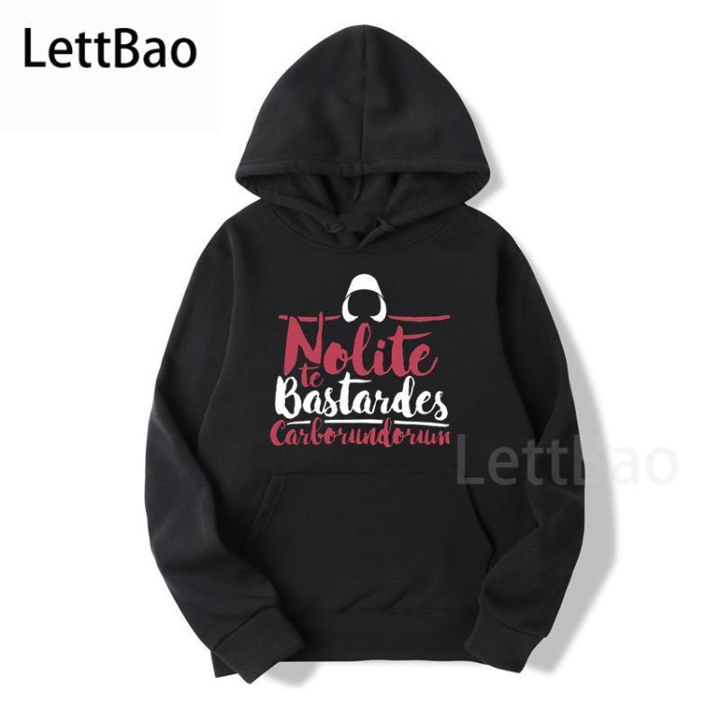 أسود الجمعة 2020 nolite te bastardes carborundorum البنات الحكاية هوديس مضحك الأعلى الإبداعية الشارع الشهير هوديس النساء الملابس