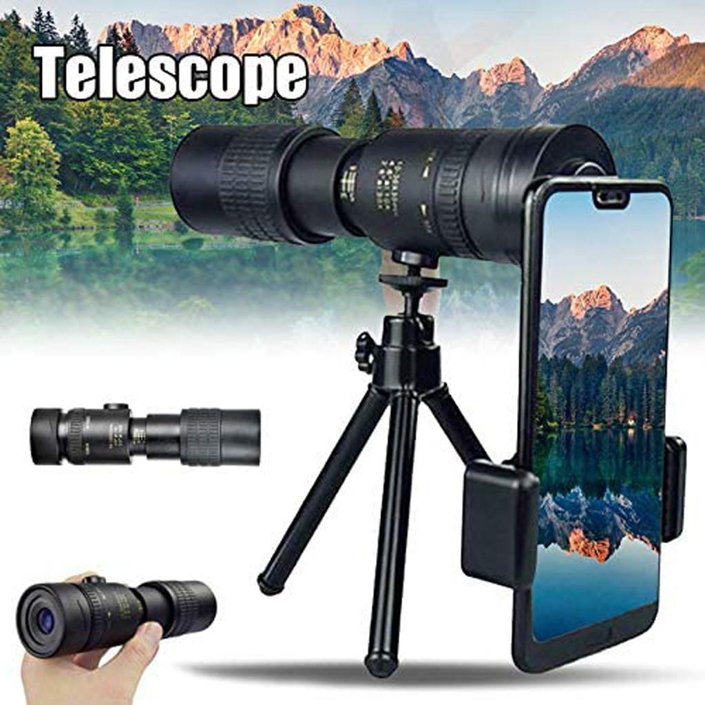 Новый 4k 10-300x40mm Супер телеобъективы Монокуляр телескоп портативный бинокль Увеличение высокого качества Hd Охота Оптика Scope