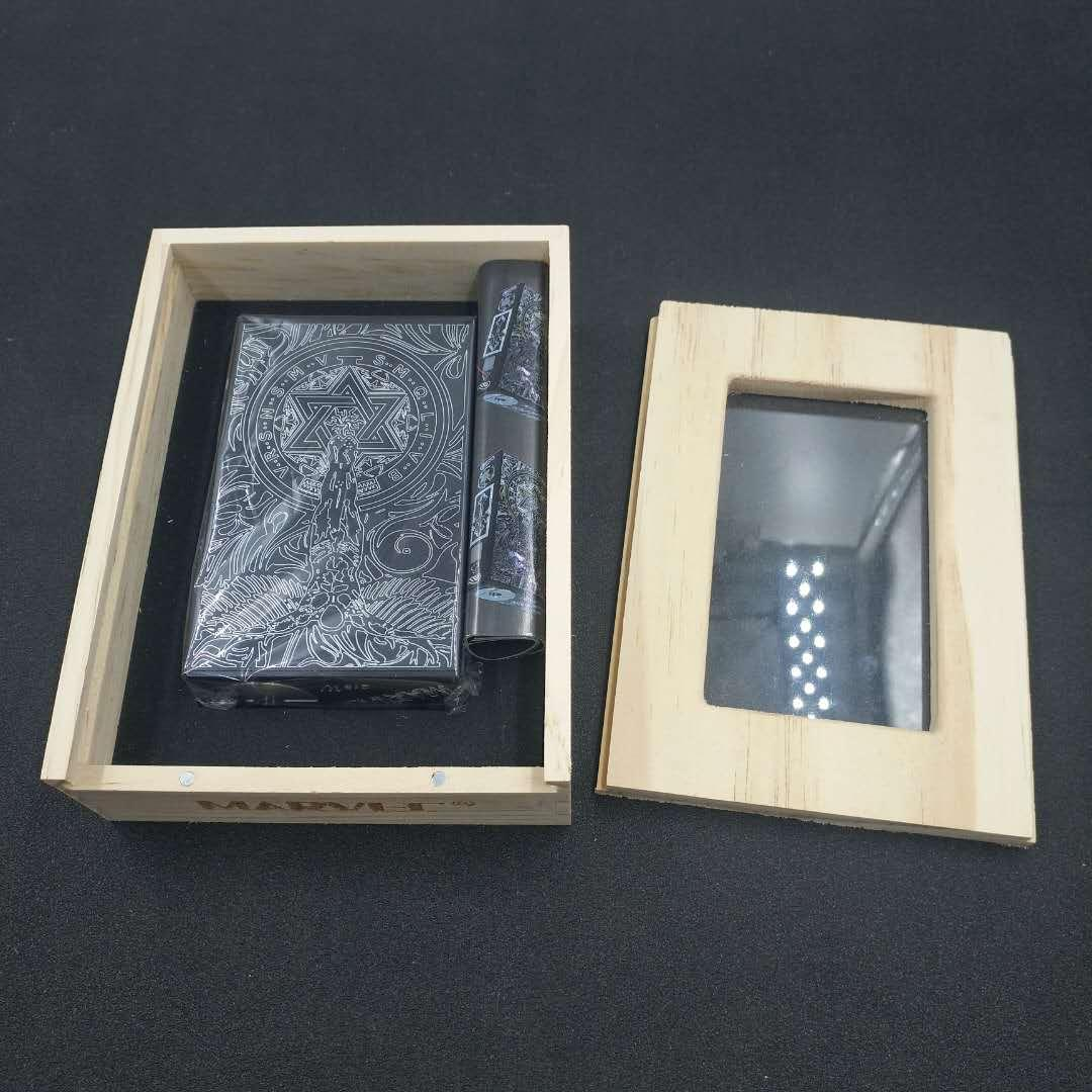 E-cigarette 218W Vape 18650 piles 2 kit alliage d'aluminium alliage d'origine 100% original édition de rafraîchissements de vape kits