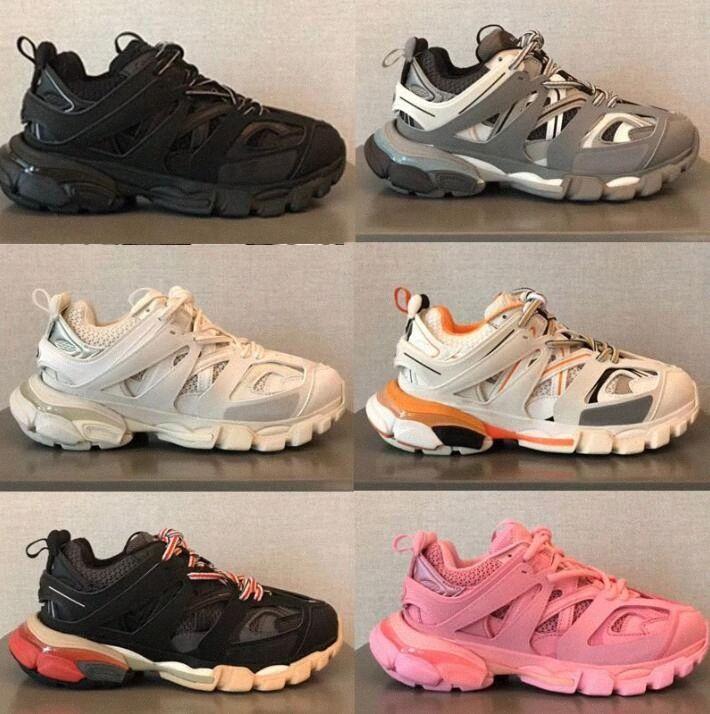 2021 Spur 3.0 Neueste Outdoor Athletic 3M Triple S Sport Schuhe Vergleichen Sneakers 18ss Ähnliche Schuhe Männer Frauen Designer Größe 36-45 G44U #