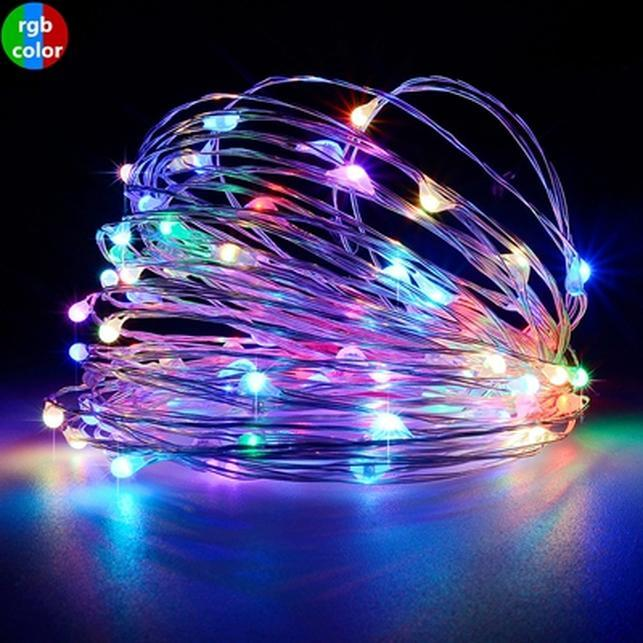 Osiden Usb Led Strings Lights 10m 5m Waterproof Copper Wire Outdoor Lighting Christmas Wedding Decoration Fairy Wreath Warm Swy jllqFN