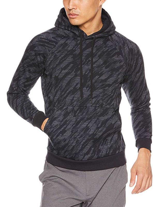 Pullover mit Kapuze Camouflage Sport Casual Herren Pullover