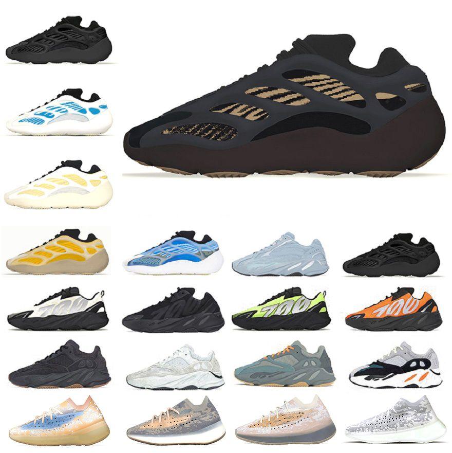 Clay Brown 700 v3 v2 kanye west mens running shoes Azareth Kyanite Safflower Wave Runner Mauve Vanta 380 men women trainers sports sneakers