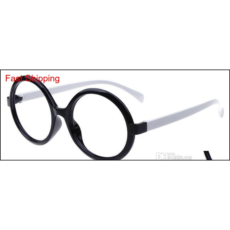 UINSEX Dekoratif Gözlük Çerçevesi Kadın Erkek Yuvarlak Gözlük Çerçeveleri Moda Ucuz Optica Qyltpo HOMES2007
