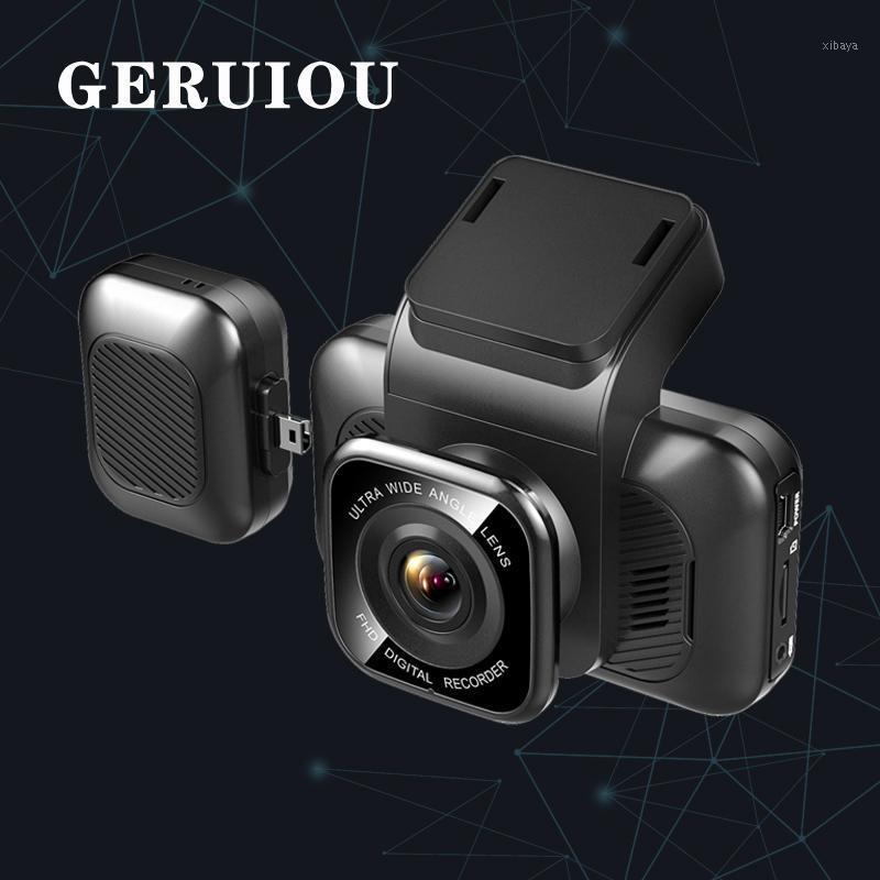 Aiba A12 Dash Cam 3 Inch Wifi DVR Parking Monitor with G-sensor Loop Recording Night Vision Three Lens 24H Car DVR1
