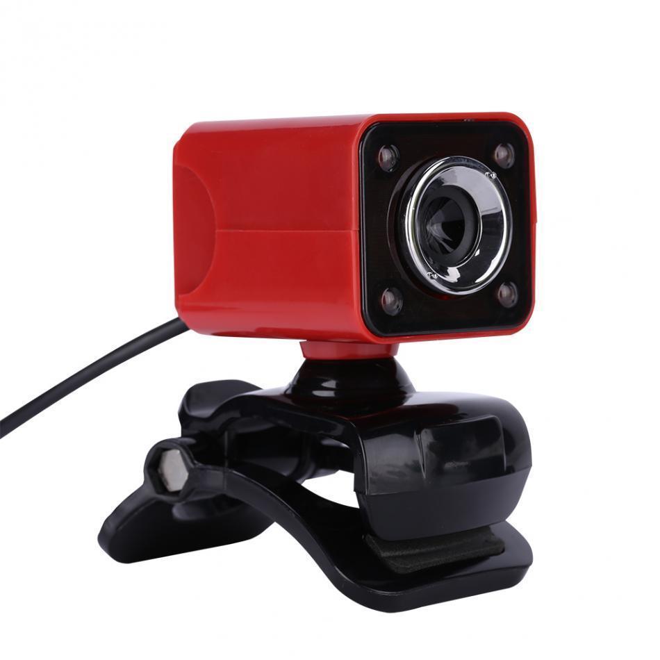 VbestLife A862 Gece Görüş Webcam 12.0 M Piksel CMOS USB Web Kamera Dijital Video HD Dahili Mikrofon 360 Derece Rotaion 9