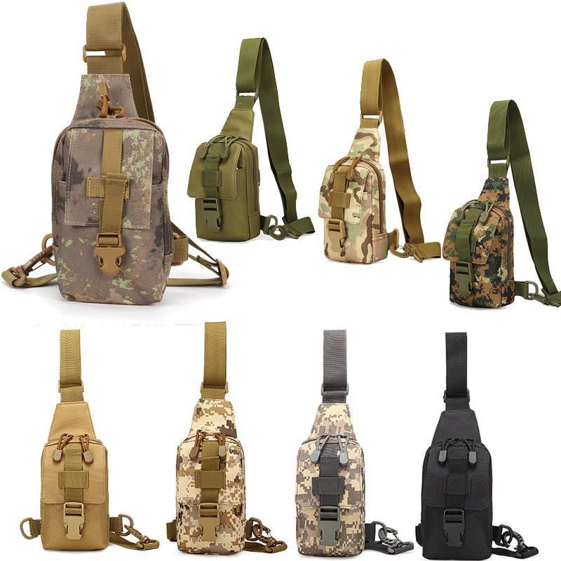 Sports de plein air Randonnée Soup sac Épaule Pack Camouflage Tactique Pass Pack No11-106