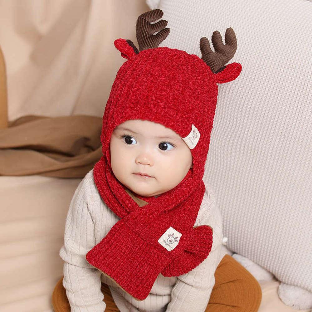 Automne NOUVEAU Chapeau Kacakid Kacakid Kacakid et Chaud Scrappe d'hiver Baby Elit-Chapeau 2086 2H7T