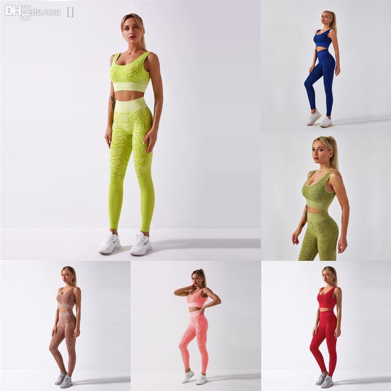 HFC3W nouvelle plasticité sans soudure de yoga up femmes vêtements de sport vêtements de sport femme gym Leggings rembourré costume de yoga pour legging push respirant ensemble