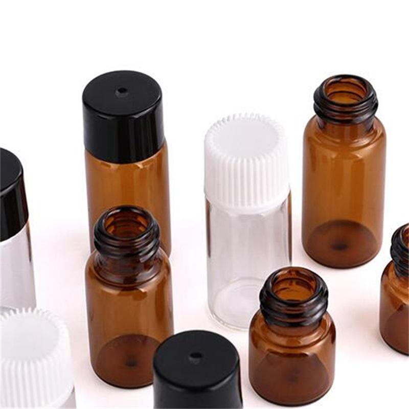 Separate feste farbe flasche schraube mundglas mit abdeckung tragbare transparente kleine robuste flaschen heißer verkauf 0 25pj p2