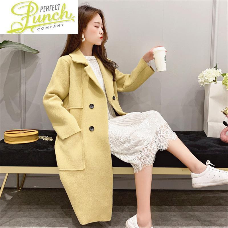 Ropa de otoño invierno de Corea chaqueta de estilo para las mujeres abrigos otoño y chaquetas Mezclas Mujer Chaqueta Mujer Trench WPY1635