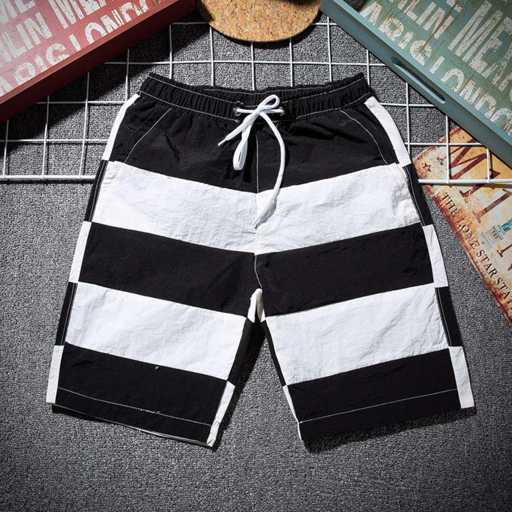 Spiaggia per il tempo libero Surf 5 Lace Up Multicolor Solid Summer 2020 Short Dry Dry Shorts
