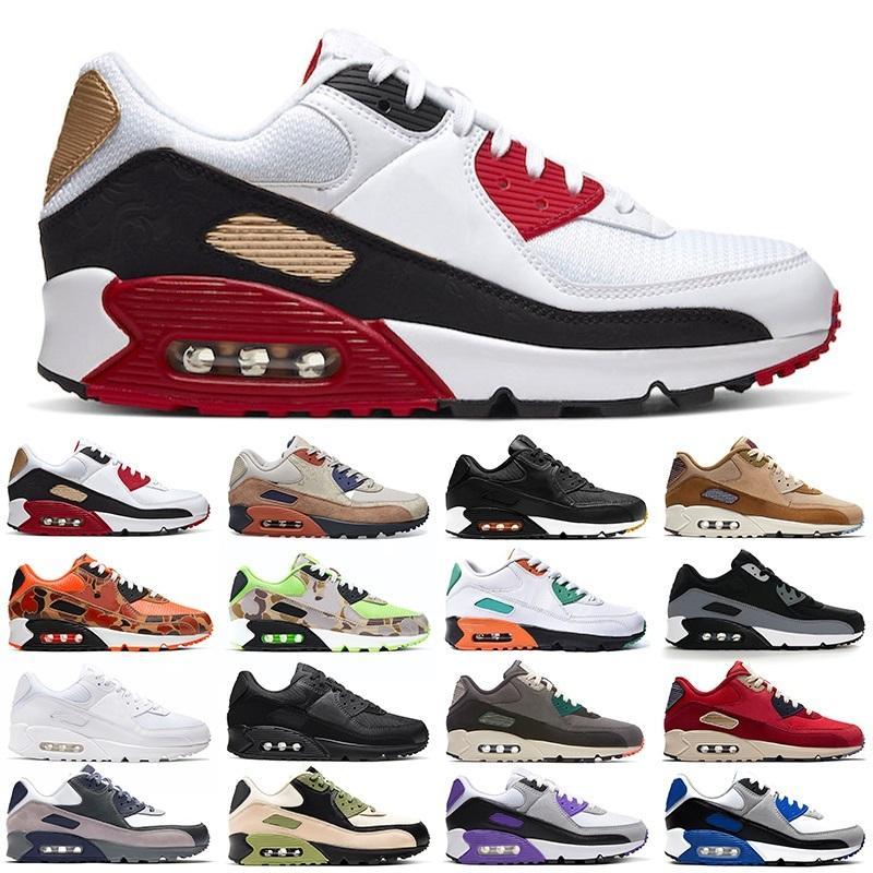 Funning Hommes Femmes Chaussures Hommes Baskets Haute Qualité Camowabbb CNY Hyper Grape Royal Rain Forêt Rouge Pas Cher Sport Chaussures Sneakers Taille 36-45
