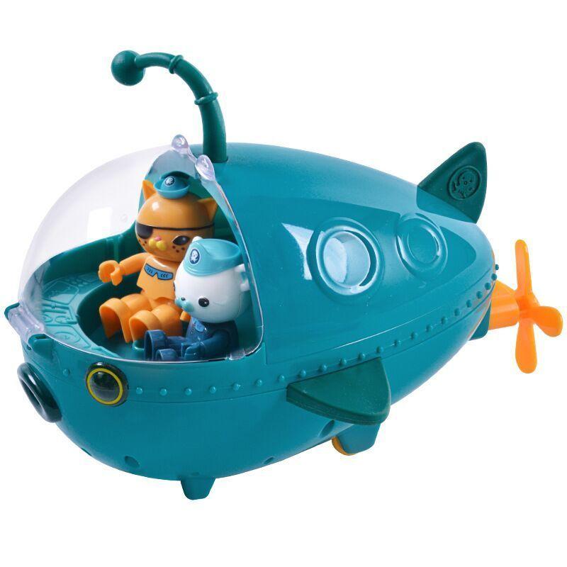Octonauts الغواصة لعبة فانوس الأسماك قارب الشكل نموذج دمية هدية عيد ميلاد الأطفال Q1215