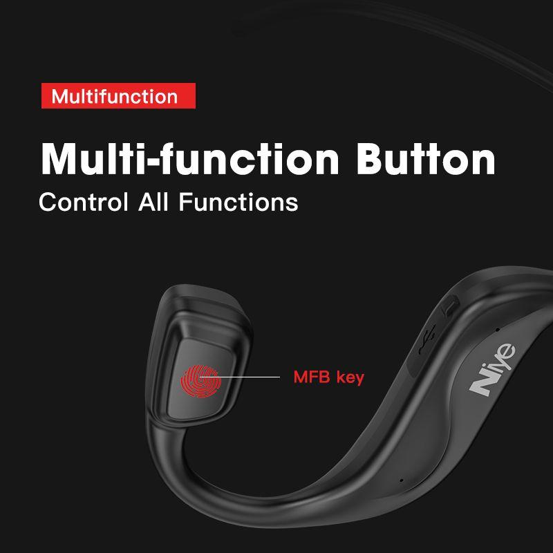 TWS 5.0 Bluetooth Headphones Wireless Running Earphones Bone Conduction Shape Earphone Waterproof Free Shipping