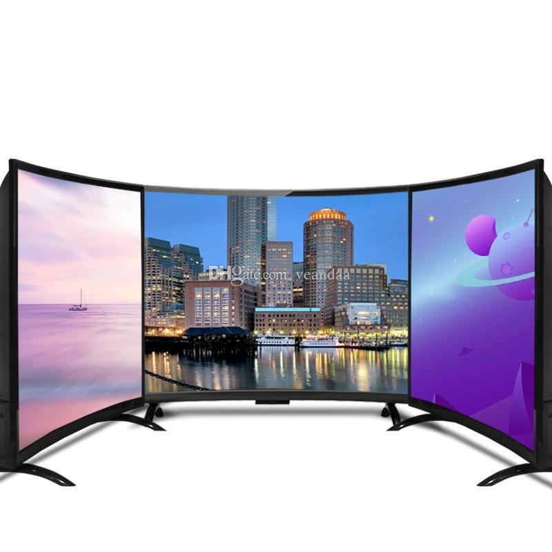 55inch TV de TV curva HD 4K Televisão Smart LED TV curva 55 pronto para enviar instock