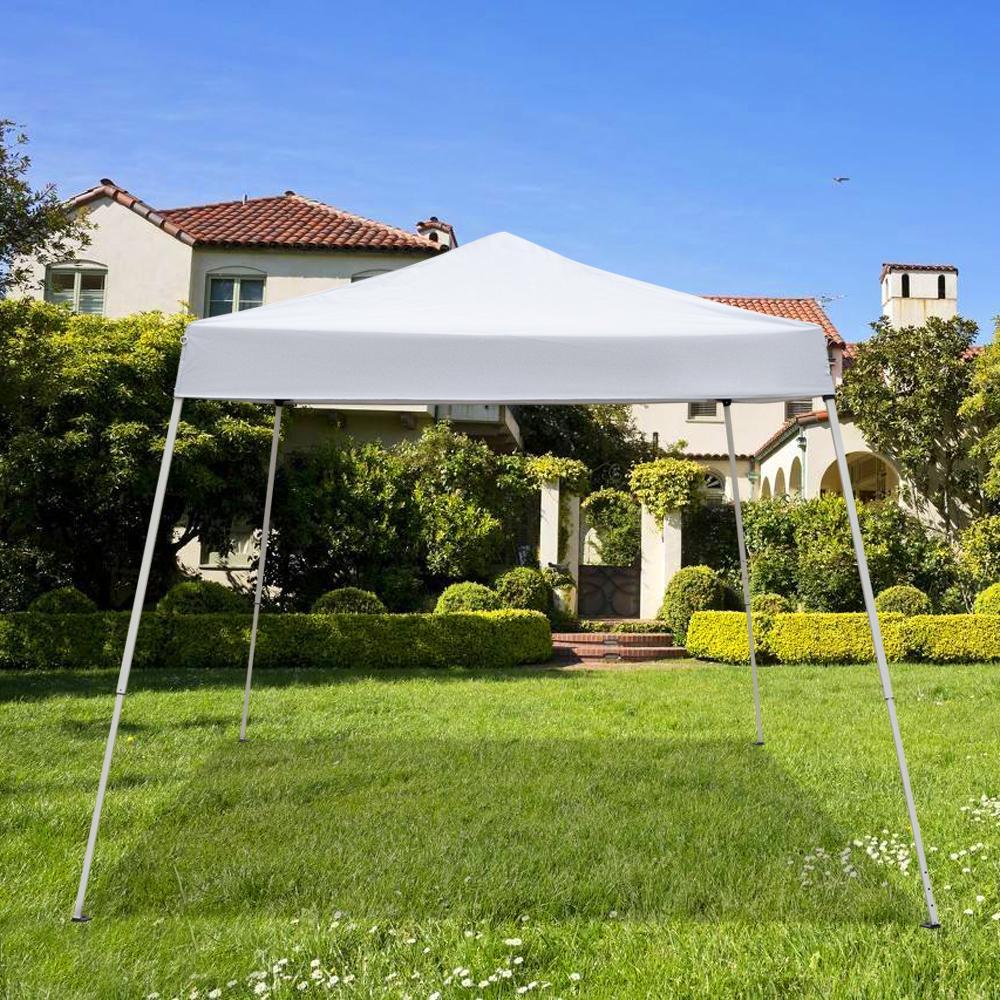 Easy всплывающее солнцезащитное навес Gazebo вечеринка свадебная палатка домашнее использование портативный открытый кемпинг водонепроницаемый складной палатка
