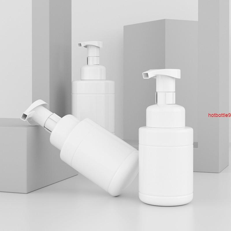 12 stücke 200ml 350ml Weiß Schauming Mousse Flaschen DIY Bubbubling Schaumpumpe Nachfüllbare Flaschengut-Qualität