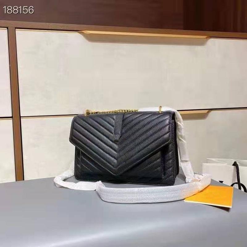 Lüks Moda Marka Tasarımcısı Klasik Büyük Kapasiteli Çevirme Cüzdan Deri Çanta Bayan 3A + Yüksek Kaliteli Deri Omuz Çantası Messenger Çanta