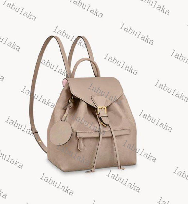 Mochila de couro original para mulheres bolsas bolsas mulheres moda back pack bolsa de ombro bolsa presbyópico mini pacote mensageiro m45410m