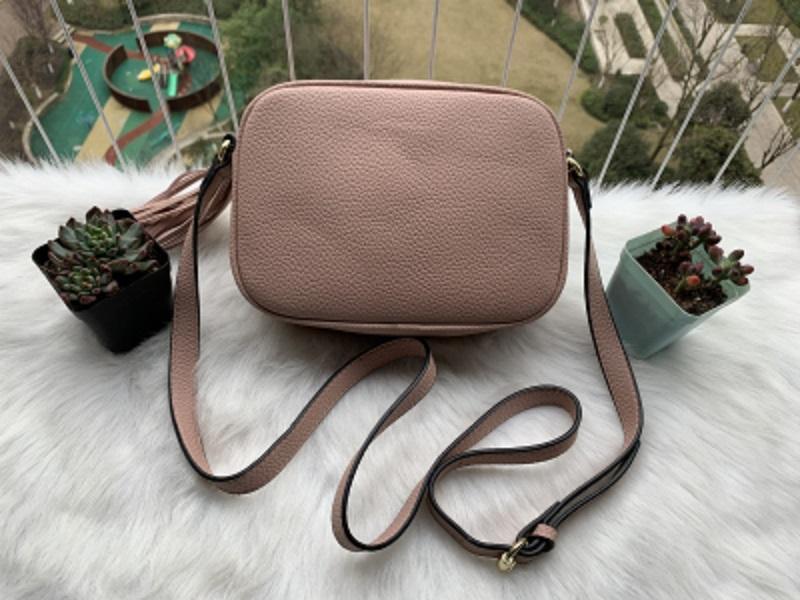 New Genuine Disco Soho Original Bag Leather Fashion Handbags Cowhide Luxury Crossbody Shoulder Bags Handbags Bags Cbehi