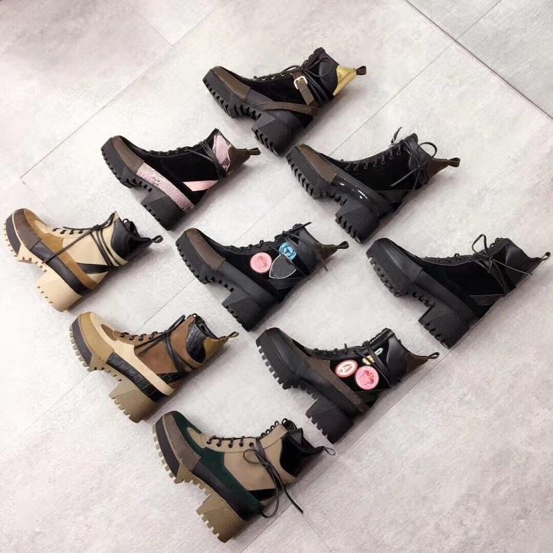 Clássicos requintados mulheres de couro botas de saltos altos e genuíno botas de moda ao ar livre Martin Cowboy Western Booties 07