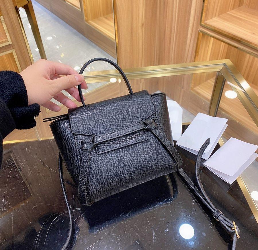 Famoso c cinto pico designer womens tote campagin bolsa bolsa de ombro de alta qualidade de couro genuíno messenger luxo moda crossbody
